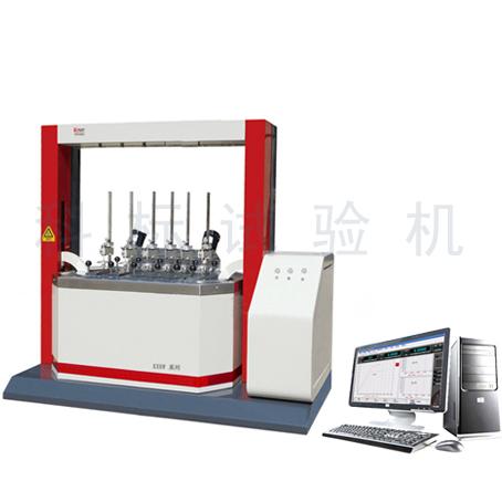 KXRW-CL-6立式自动升降热变形维卡软化点温度测定仪